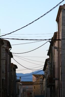 On the street. Cataluña, Spain