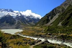 Hooker Valley, Mount Cook.New Zealand
