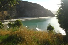 A paradise.Doctor's Point, New Zealand